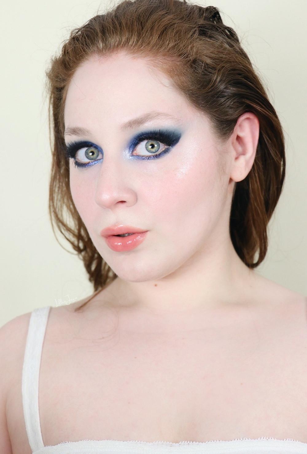 Blue Eyeshadow Makeup Revolution EUTOPIA Tutorial 2021 | Lillee Jean