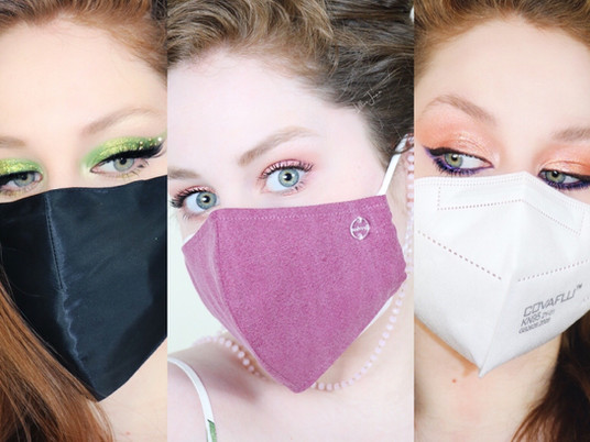 Top 3 Masked Makeup Looks by Lillee Jean