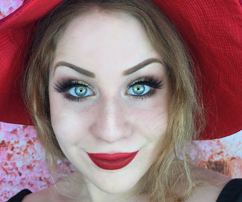 New Years Eve: Glittering White Gold Smokey Eye With Red Lips Makeup Tutorial