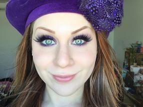 Holiday Series: Royal Purple Smokey Eye Makeup Tutorial