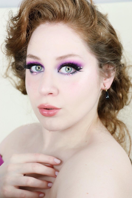 Makeup Revolution Birds of Paradise Purple Halo Eye Makeup Tutorial 2021 | Lillee Jean