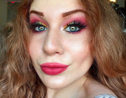 Transition Into Autumn: Vibrant Mulberry & Muted Citrus Makeup Tutorial