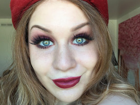 Holiday Series: Sensual Cranberry Smokey Eye Makeup Tutorial
