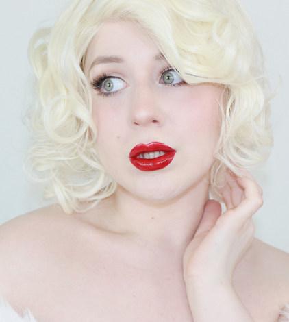 Marilyn Monroe Cosplay by Lillee Jean