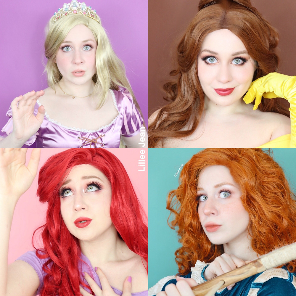 Lillee Jean Disney Princess Cosplays