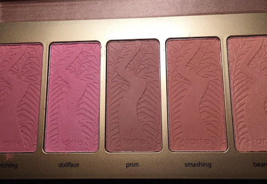 Tarte Bling It On Amazonian Clay Blush Pallet Review+Swatches