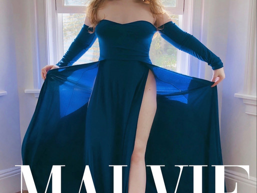 Malvie French Magazine BACK COVER AND INTERVIEW WITH LILLEE JEAN