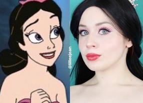 Alana Ariel's Sister The Little Mermaid Disney Makeup Tutorial 2020 | Lillee Jean