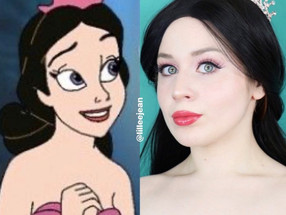Alana Ariel's Sister The Little Mermaid Disney Makeup Tutorial 2020 | Lillee Jean