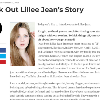 Lillee Jean VoyageLA Interview   Check Out Lillee Jean's Story