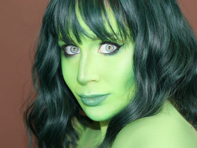 SHE HULK Makeup Tutorial MARVEL Cosplay 2020 | Lillee Jean
