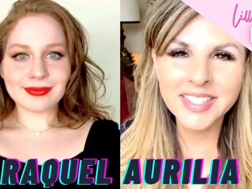 Lillee Jean Talks LIVE - Raquel Aurilia   Songwriting, WARMUPS, Manifestation   EP: 2.11