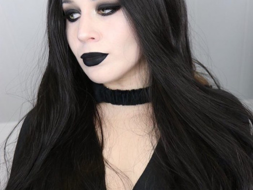 Easy Goth Makeup Tutorial 2020   Lillee Jean
