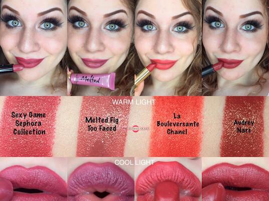 Top 4 Medium to Dark Autumn Lipsticks 2016 | Lillee Jean
