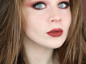 Too Faced Extra Spicy Thanksgiving Burnt Orange Makeup Tutorial | Lillee Jean
