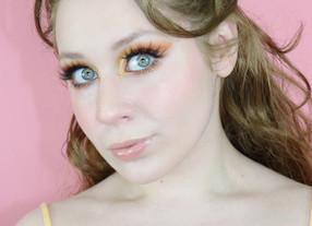 Natasha Denona Bronze Yellow Cut Crease with Crystal GRWM 2020 | Lillee Jean