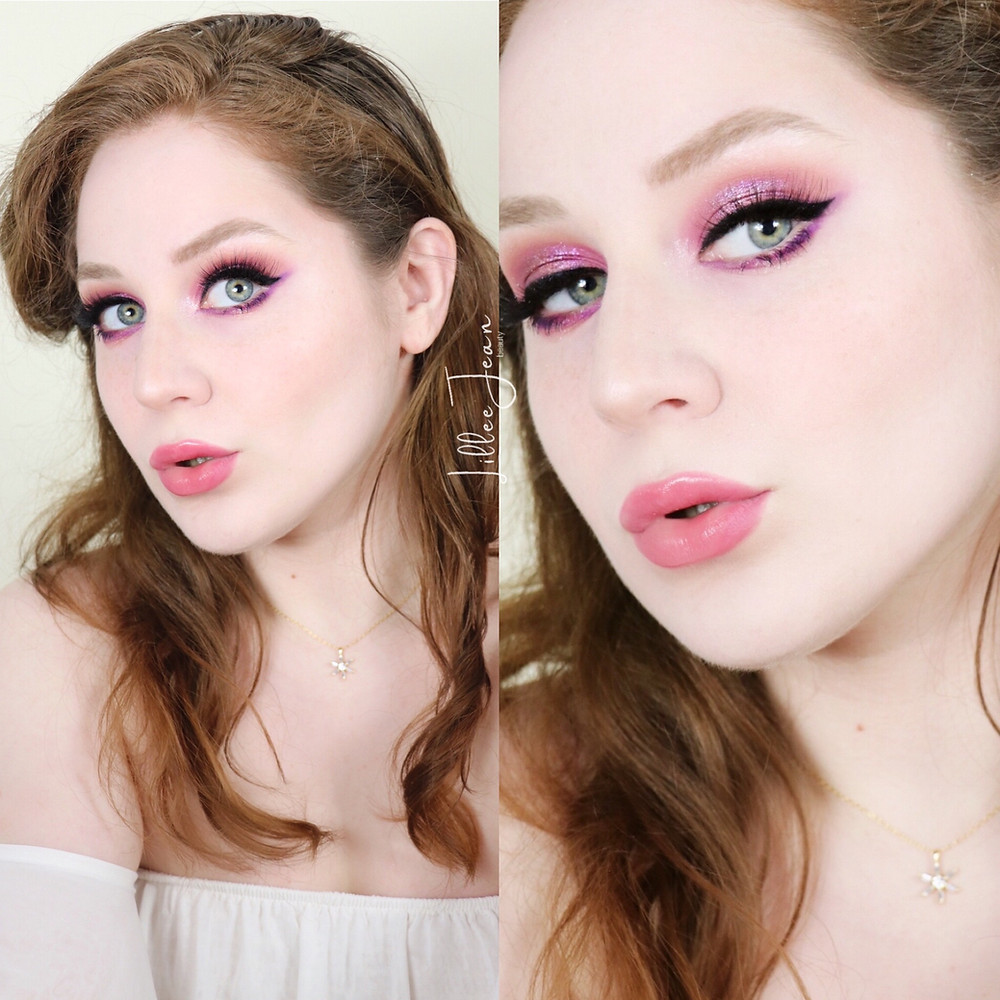 Followers Picked My Makeup - Purple Glam Makeup Tutorial 2021 | Lillee Jean