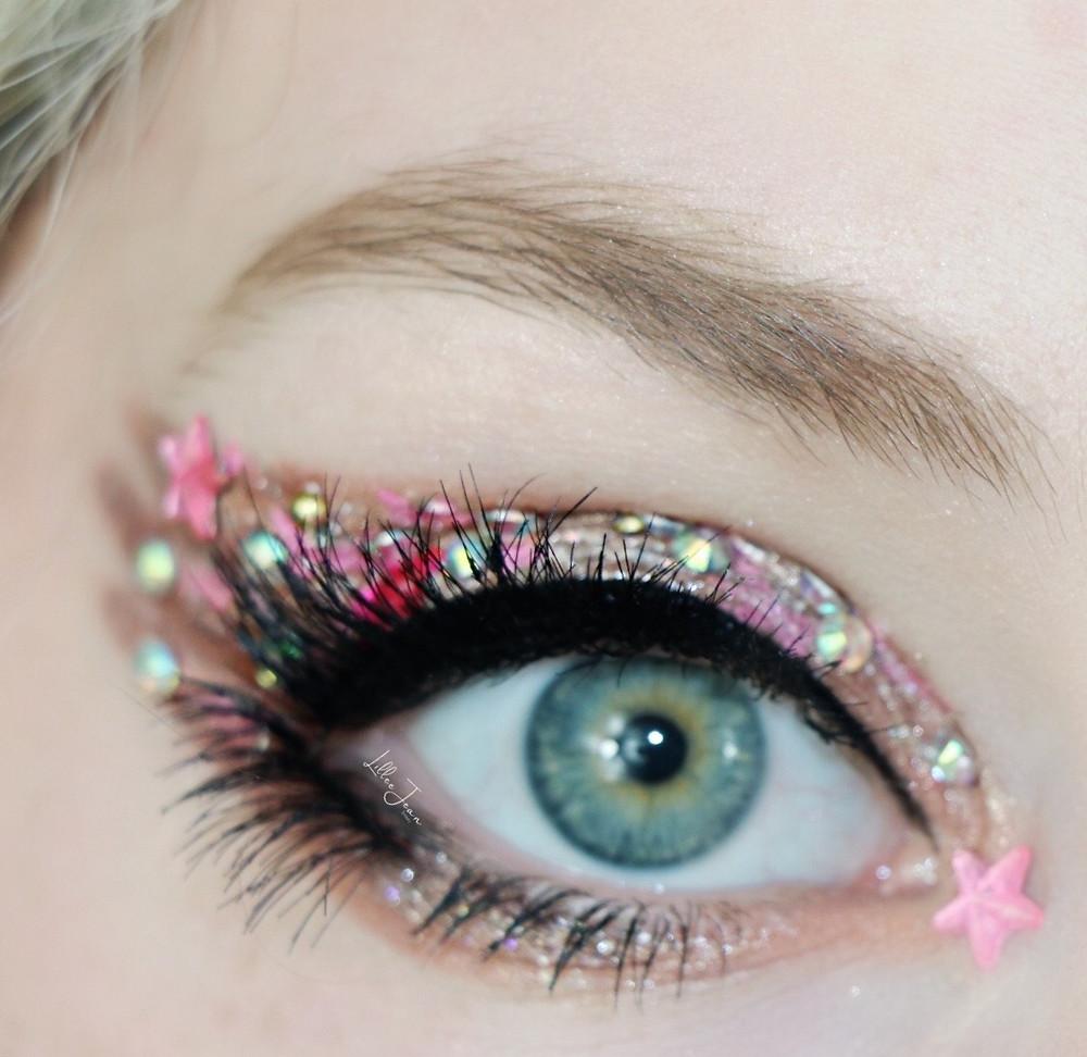 Luna Lovegood Spectrespecs Makeup by Lillee Jean