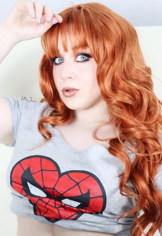 Lillee Jean MARY JANE WATSON Spiderman Cosplay