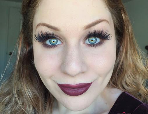 Matte Medium Taupe Brown Smokey Eye W/ Fall Lip Makeup Tutorial   Too Faced Natural Matte Eyeshadow