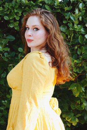 Lillee Jean Yellow Lemon Summer Fashion Lookbook