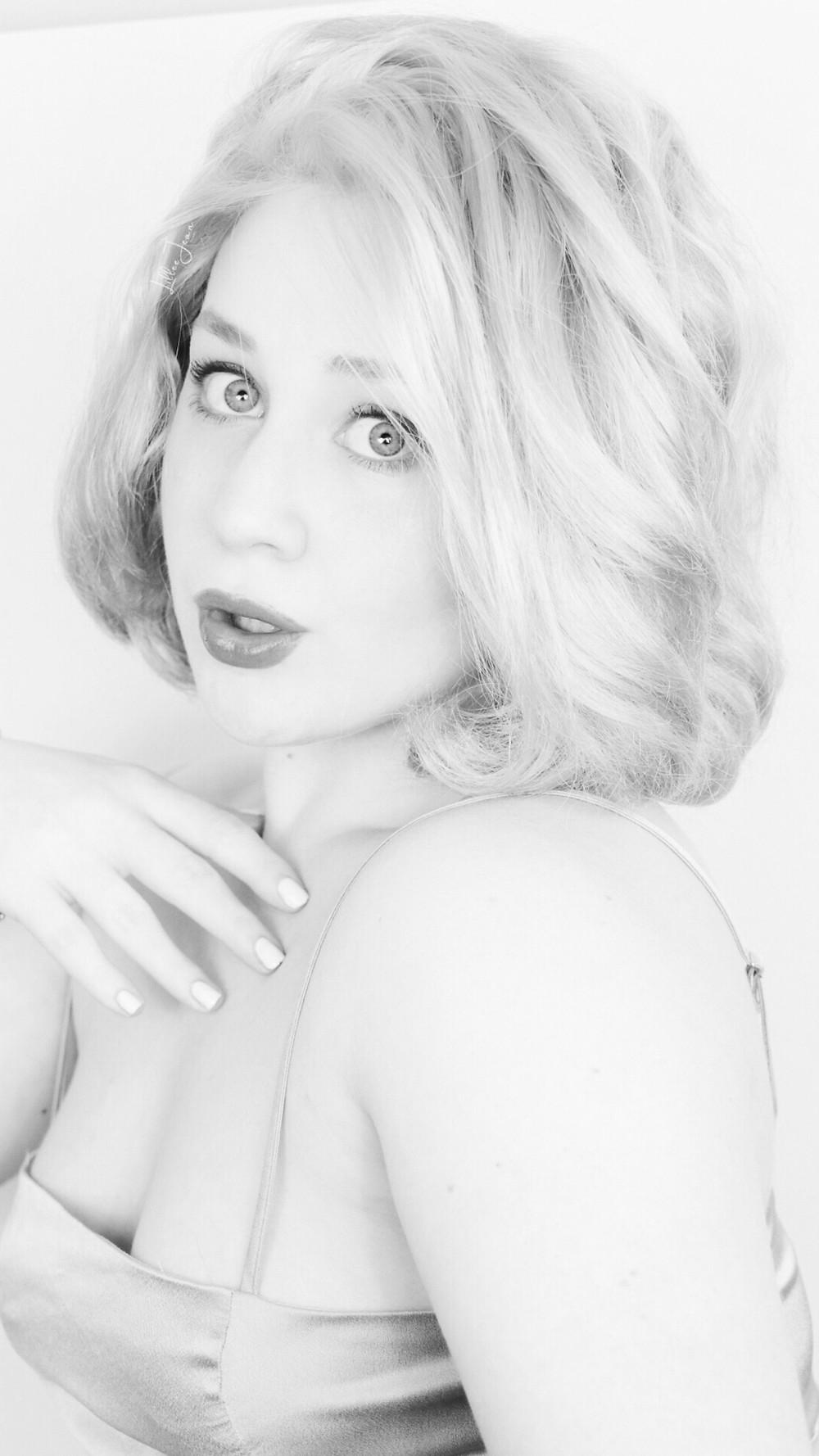 Grace Kelly 1950's Makeup Tutorial (BLUE DRESS) 2021 | Lillee Jean