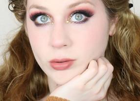 Nyx Ultimate EDIT RHINESTONE Green Smokey Eye Autumn Makeup Tutorial 2020 | Lillee Jean