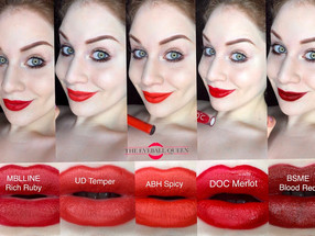 How to Choose the Perfect Red Lipstick + My Top 5 Red Lipsticks