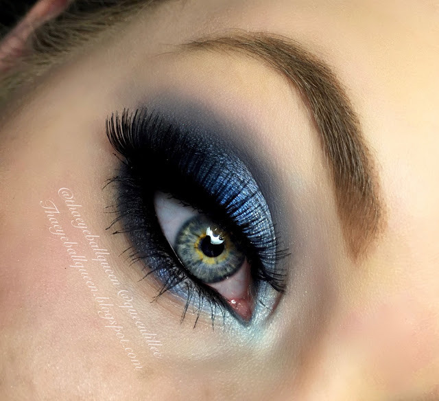 Ocean Blue Smokey Eye Makeup Tutorial 2016 | Lillee Jean