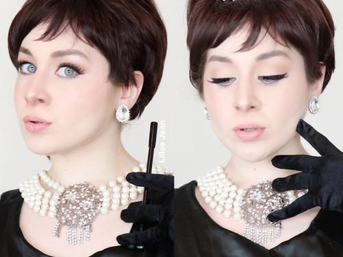 AUDREY HEPBURN Breakfast at Tiffany's Makeup Tutorial 2020 | Lillee Jean