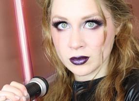 Star Wars Lady DARTH VADER Makeup Tutorial SIMPLE HALLOWEEN 2020 | Lillee Jean