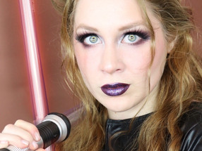 Star Wars Lady DARTH VADER Makeup Tutorial SIMPLE HALLOWEEN 2020 | Lillee Jean