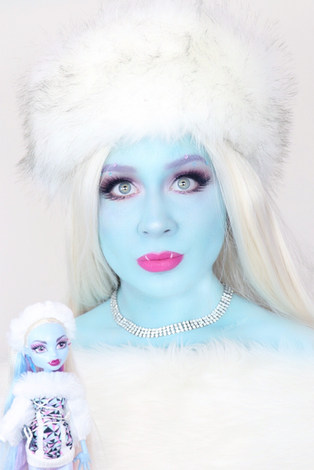 Lillee Jean Abbey Bominable Monster High Cosplay