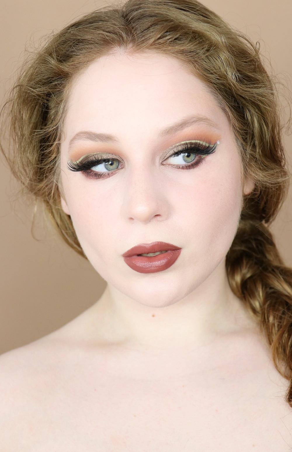GRWM Wander Beauty Rush OLIVE GREEN Creative Fall GLAM Makeup Tutorial 2020 | Lillee Jean