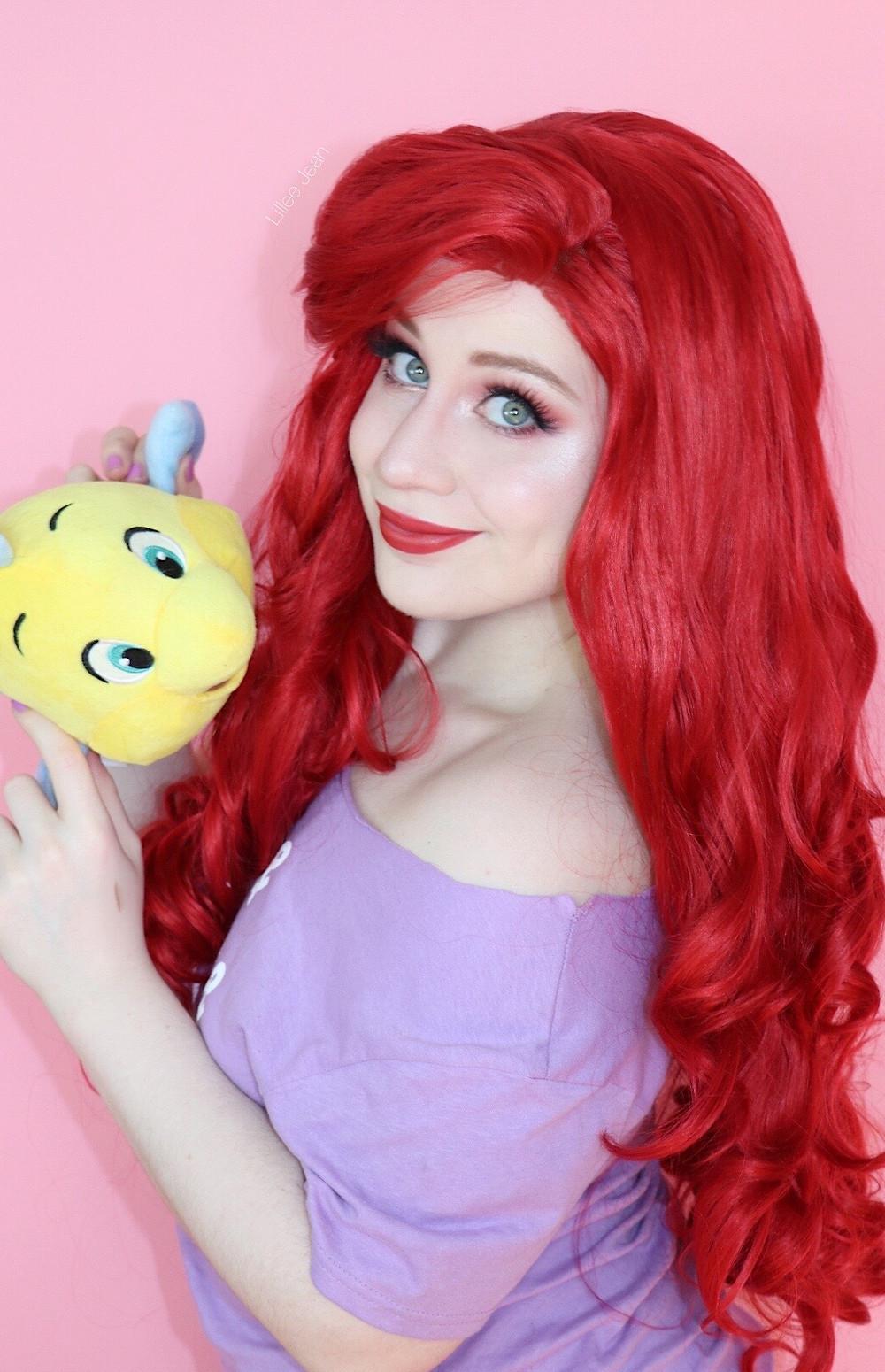 Disney Princess Ariel Makeup by Lillee Jean