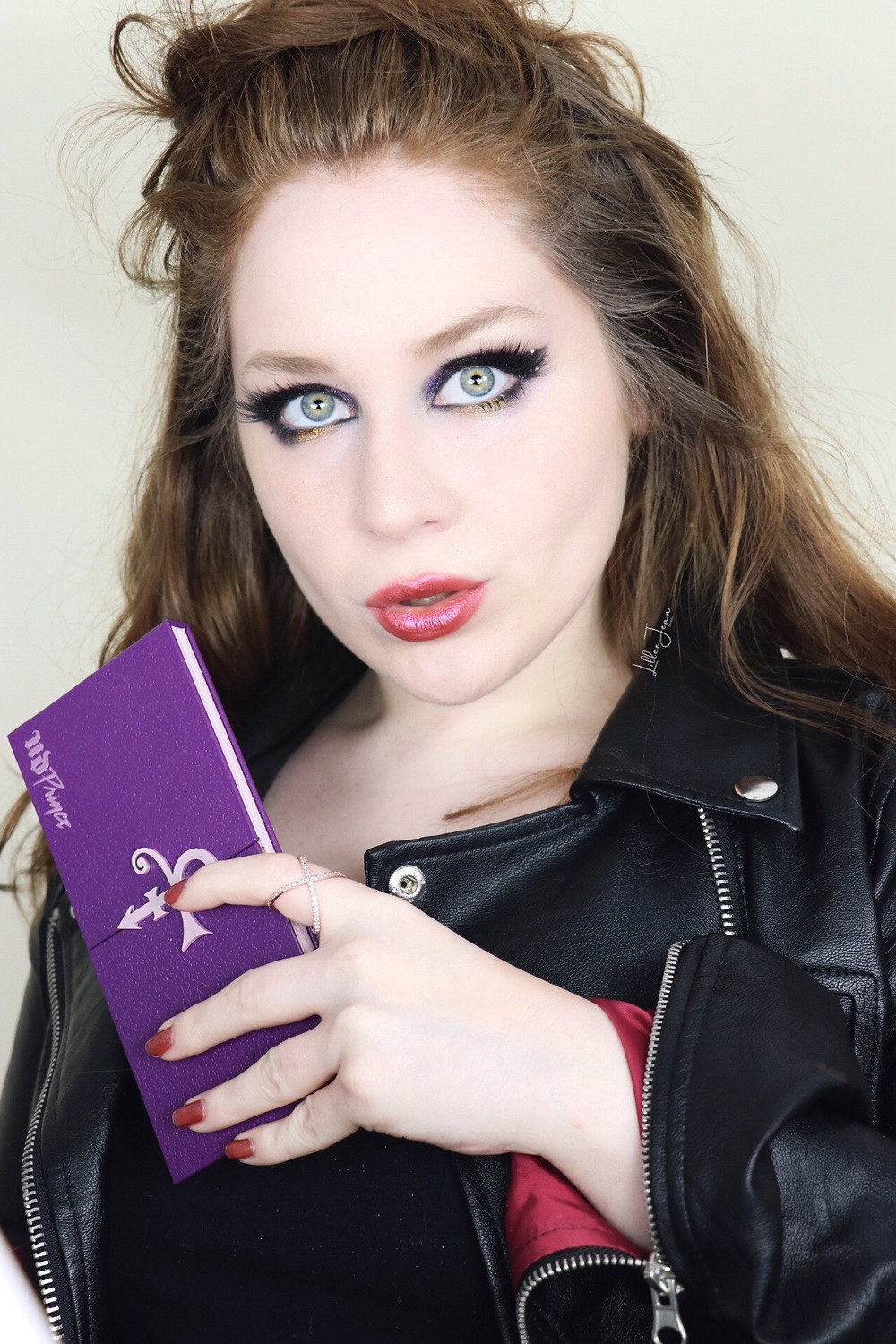 Urban Decay Prince PURPLE GOLD Makeup Tutorial 2021 | Lillee Jean