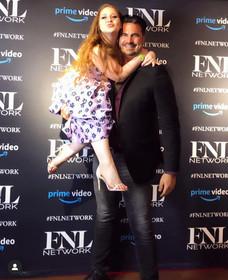 Lillee Jean Art Hearts Fashion NYFW with Rocco Leo Gaglioti