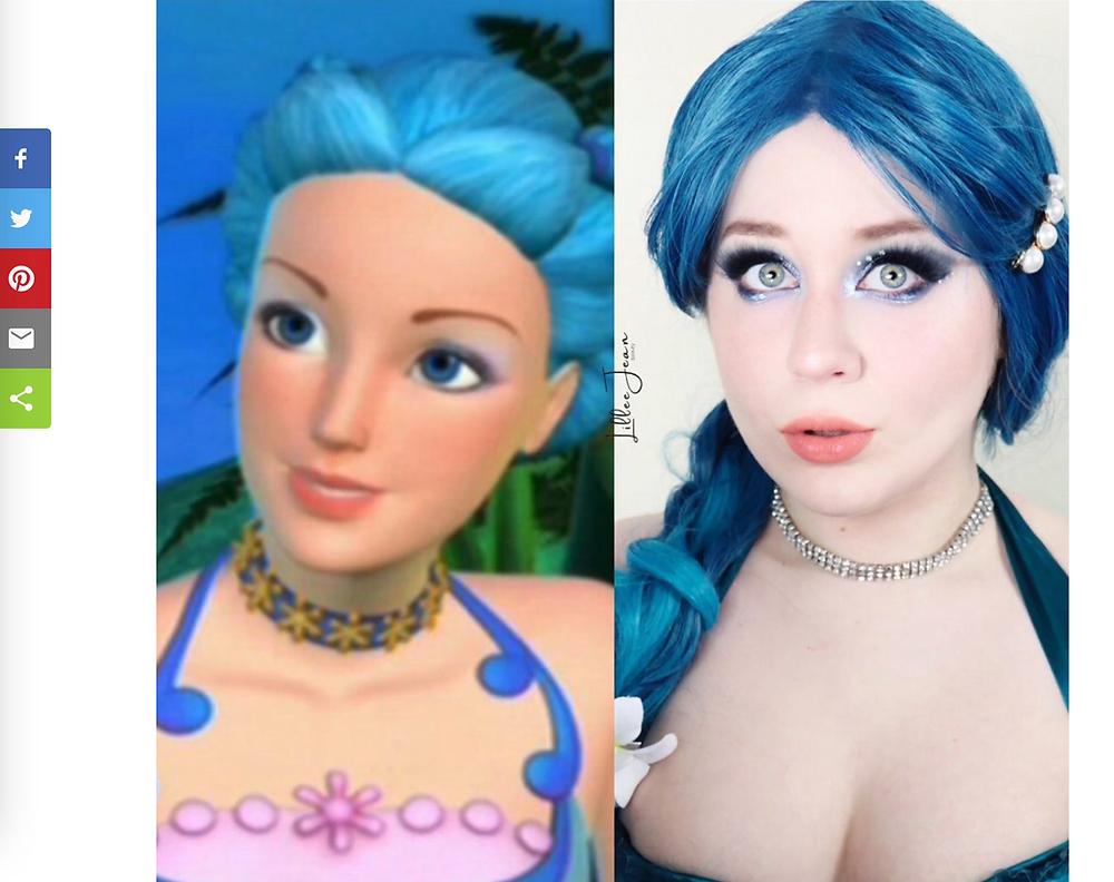 Lillee Jean Barbie NORI Re-shared on Anime Blog