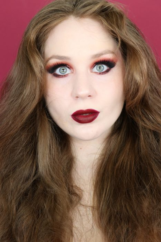 Aries Zodiac Morphe 35O3 Red Makeup Tutorial 2020 | Lillee Jean