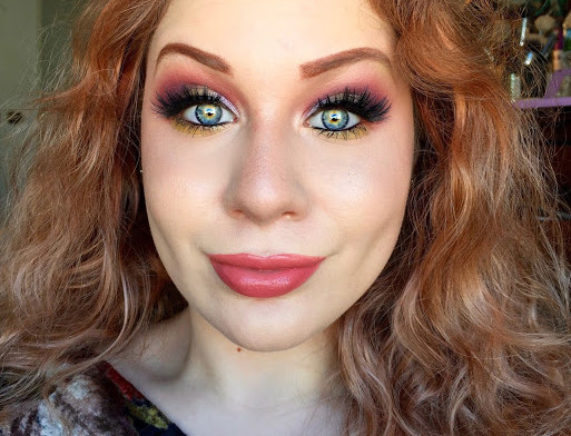 Transition Into Autumn: Vibrant Colorful Summer Warmth Makeup Tutorial