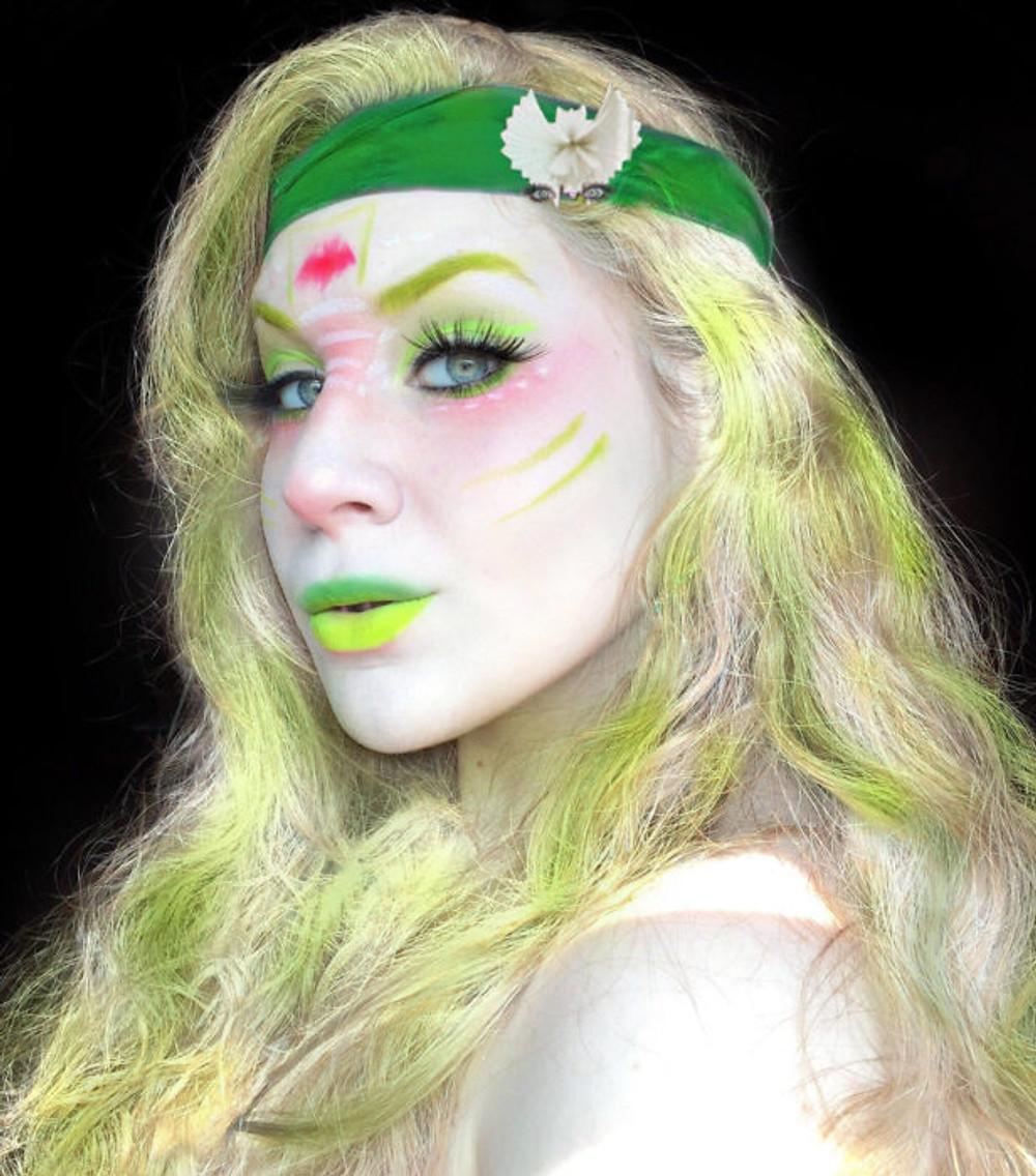 Batsy Claro Monster High Halloween Makeup Tutorial 2017 | Lillee Jean