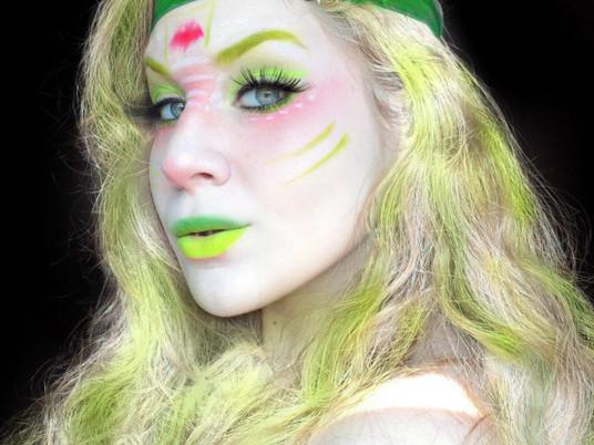 Batsy Claro Monster High Halloween Makeup Tutorial 2017   Lillee Jean
