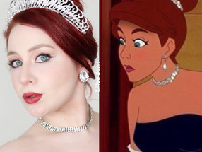 Princess ANASTASIA Essence Olá Rio Soft Glam Makeup Tutorial 2020 | Lillee Jean