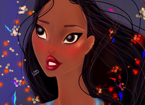 Disney Pocahontas Digital Speed Painting Spirit Within 2020 | Lillee Jean