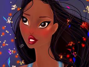 Disney Pocahontas Digital Speed Painting Spirit Within 2020 | Lillee Jean