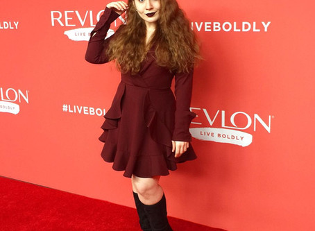 Lillee Jean At Revlon's Live Boldly Event in New York City