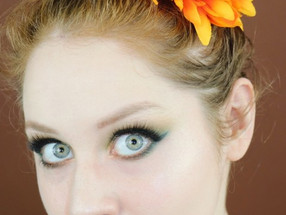 Natasha Denona Metropolis Palette Green and Rust Makeup Tutorial | Lillee Jean