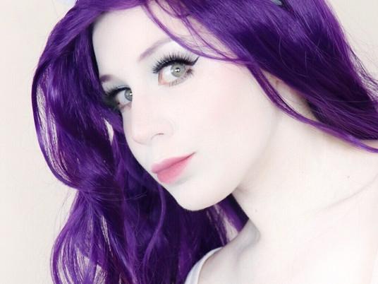 RARITY My Little Pony Cosplay Makeup Tutorial Halloween 2020 | Equestria Girls | Lillee Jean
