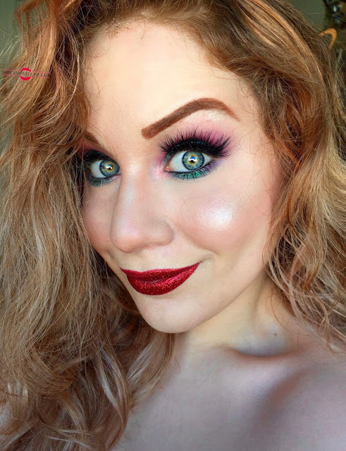 Disney Princess Ariel Inspired Glittery Halloween Makeup Tutorial 2016 | Lillee Jean