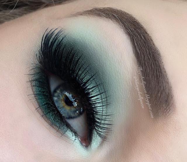 Mildew Green Spring Smokey Eye Makeup Tutorial 2016 | Lillee Jean